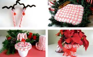 Outdoor Entertaining Ideas - candy cane christmas crafts improvements blog