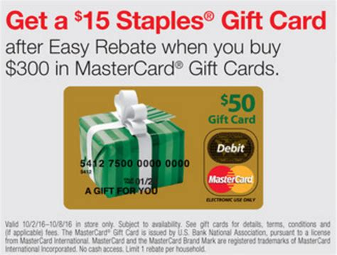 Staples Gift Card Rebate - free money 5x points returns next week at staples miles to memories