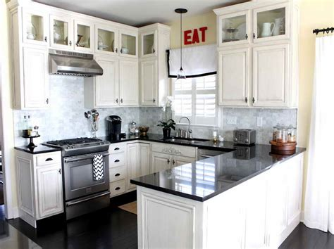 Small White Kitchen Ideas Small White Kitchens On Pinterest White Kitchens Subway Tiles And Small Kitchens