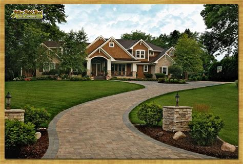 creative curb appeal rochester mn landscaping paver driveways patios pathways mpls minnesota