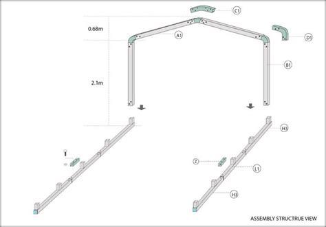 Metal Carport Parts Carport Shelter 3 4m X 8m X 2 88m Steel Wholesales Direct