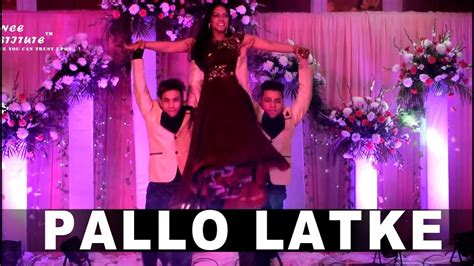tutorial dance on pallo latke pallo latke best wedding dance youtube