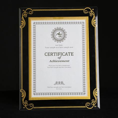 popular glass certificate frames buy cheap glass