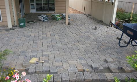 Paver Patio Drainage Paver Patio Drainage Dover Bay Special Additions Landscaping Llc Paver Drain Travertine