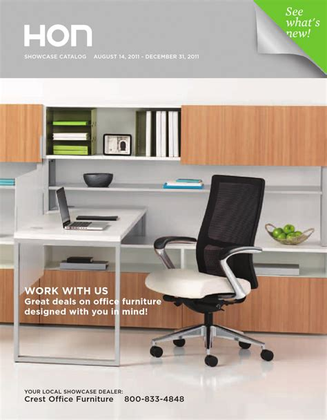 hon office furniture catalog 2012 by david wolf issuu