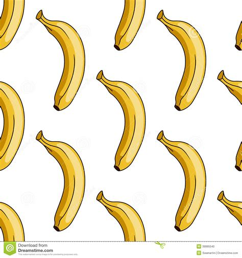 banana wallpaper pattern seamless pattern of yellow banana stock vector image