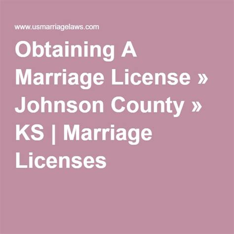 Johnson County Marriage Records 1000 Ideas About Marriage License On Name