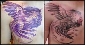rooster tattoos realistic chest rooster tattoo by firefly tattoo