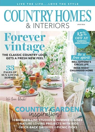 country homes interiors magazine july 2018