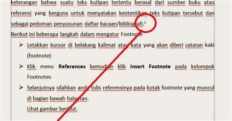 cara membuat footnote dari tesis cara membuat footnote atau catatan kaki dan endnote dalam