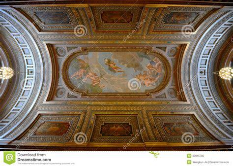 New York Ceiling Ceiling Of Mcgraw Rotunda New York Library Royalty