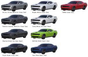 2015 dodge challenger colors challenger hellcat price color 2017 2018 best cars