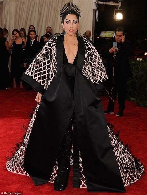 Look Kimono Dresses Couture In The City Fashion by Gaga Wears A Kimono Dress After Met Gala