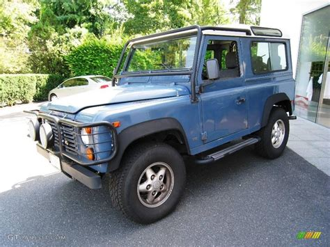 1995 land rover defender interior 1995 aries blue land rover defender 90 hardtop 16895049