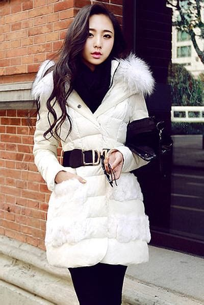 Jaket Wanita Hodies Bulu Bulu Jaket Parka Outdoor Musim Dingin Grs jaket bulu angsa big size white coat r69007white coat korea