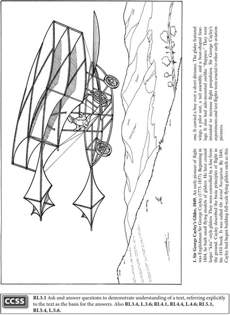 Wright Brothers Coloring Page Welcome To Dover Publications by Wright Brothers Coloring Page