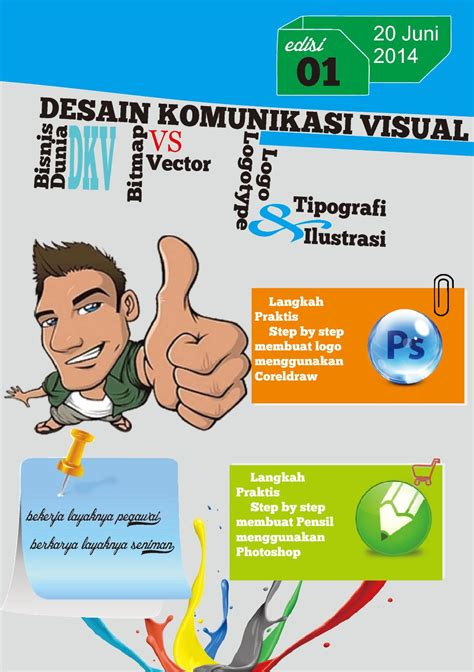 salah satu contoh hasil karya desain komunikasi visual adalah rancangan desain komunikasi visual bisnis dunia dkv by desain