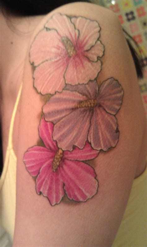 rose of sharon tattoo family of flowers