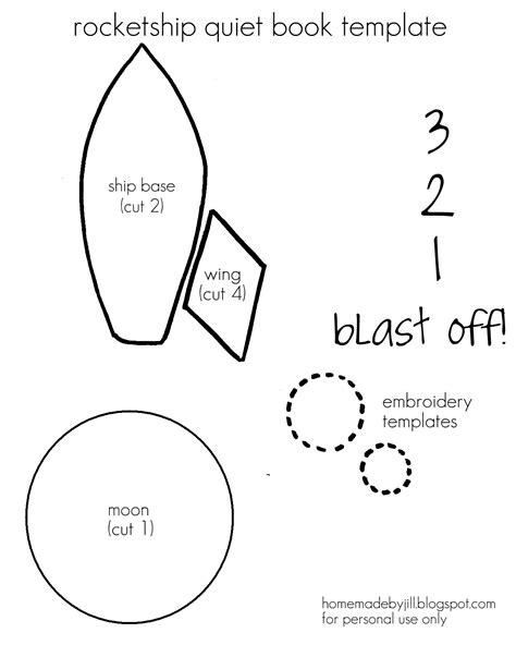 printable paper rocket template homemade by jill templates printables