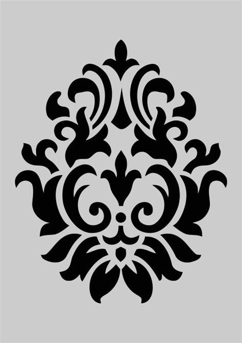printable damask stencils 420 best leather embellishments images on pinterest