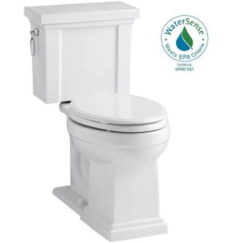 Comfort Toilets Home Depot by Kohler Tresham Comfort Height 2 1 28 Gpf Elongated
