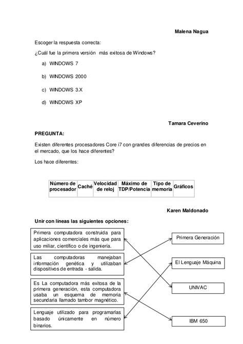 PREGUNTAS DE INFORMATICA 2