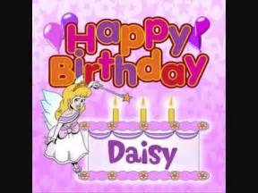 happy birthday daisy personalized song