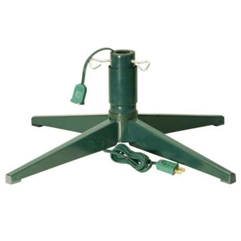 national tree company revolving tree stand rs 1 the home depot