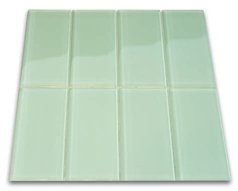 glass subway tiles surf glass subway tile 3x6 for backsplashes showers