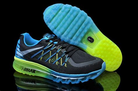 nike running shoes blue and green nike air max 2015 black green yellow dodger blue