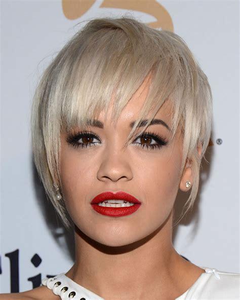 Rita Ora's Short Hairstyles (Pixie   Bob) for 2018