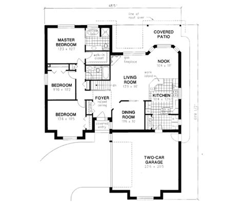 design garagen 1629 european style house plan 3 beds 2 00 baths 1629 sq ft