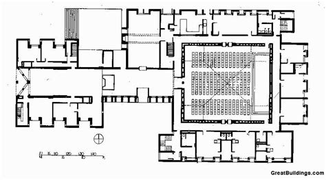 louis kahn floor plans gallery of ad classics unitarian church of