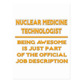 Description Title Nuclear Medicine Technologist by Med Tech Cards Zazzle