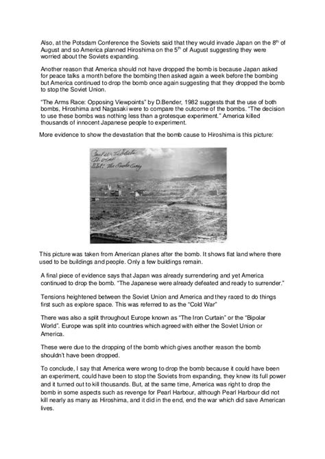 Atomic Bomb Essay by Atomic Bomb Essay Outline Etdlibtutr X Fc2