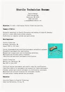 Sterile Processing Technician Resume by Sterile Processing Tech Resume Bestsellerbookdb