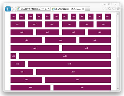 html layout css grid system one css grid download