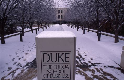 Duke Mba Program by Fuqua School Of Business 2016 17 Admission Statistics