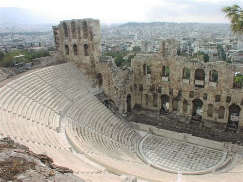 the world s most spectacular theatres telegraph greece s odeon of herodes atticus tops world s most