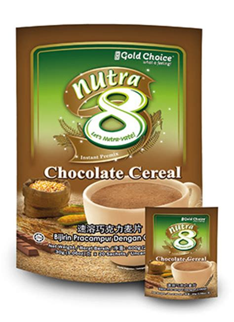 Instant Cereal Chocolate retail gold choice