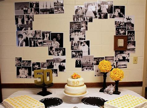 anniversary decoration ideas home 50th anniversary party ideas on a budget gallery of 50th