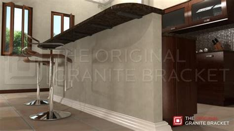 bar top brackets the original granite bracket