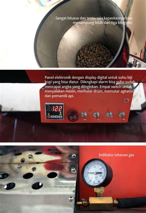 Mesin Roasting William mesin roasting w3000 cikopi