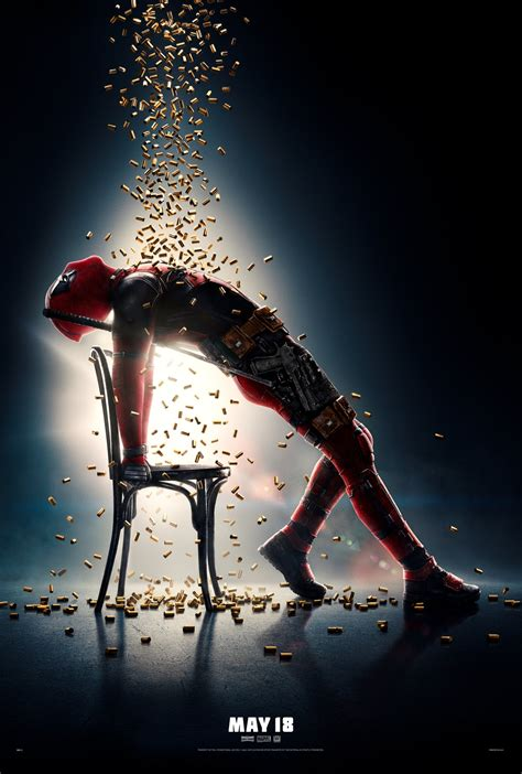 deadpool 2 poster deadpool 2 new poster goes flashdance collider