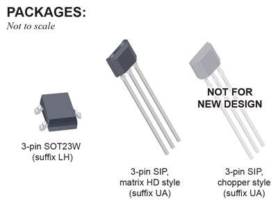 A1210lua T Effect Sensor allegro microsystems a1210 a1211 a1212 a1213 and