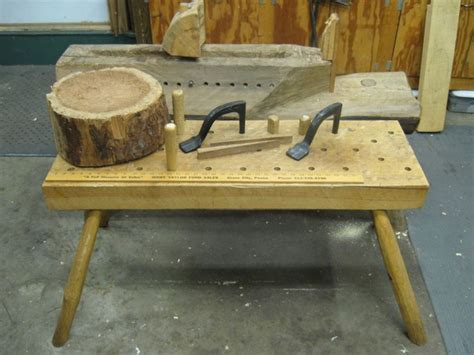 bowl carving bench david fisher bowl carver workbenches shave horse