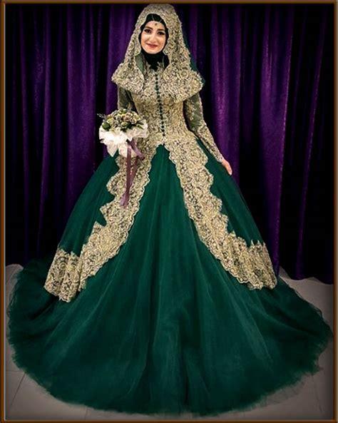 Gaun India Ori 4 Warna 32 Inspirasi Model Baju Pengantin Muslimah Modern Masa