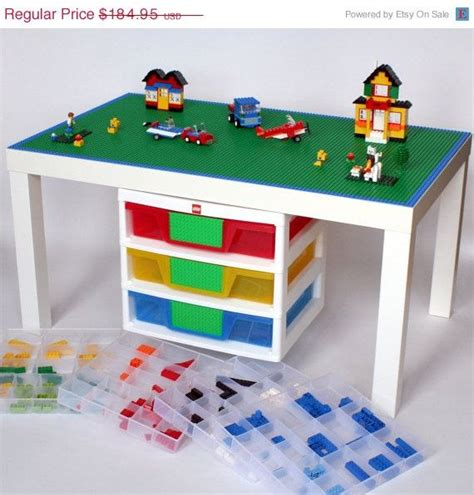 lego table with storage diy 17 best images about lego tables on