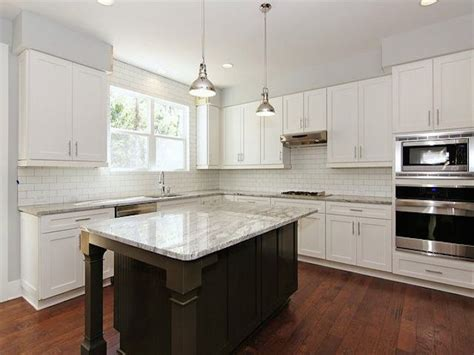 Kitchen Granite Countertops Ideas glacier white granite kitchen countertops design ideas