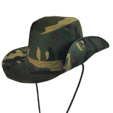 b2b camo aussie bush hat novelty